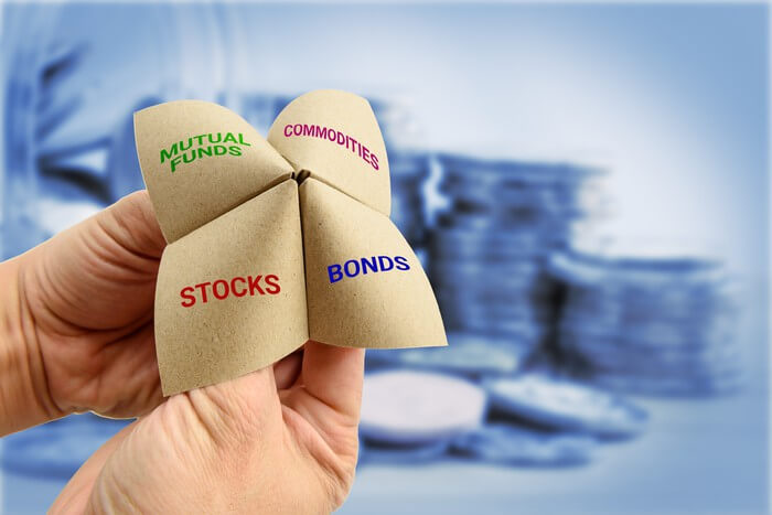 stocks, funds, and mutual bonds